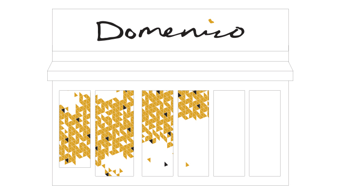 Domenico Restaurant Signage and Fit-out