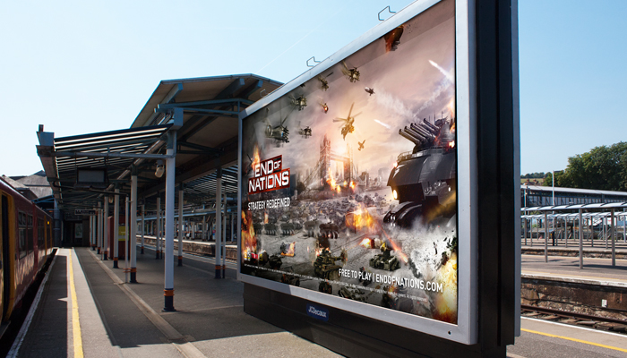 End of Nations Outdoor Campaign